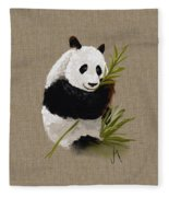 Little Panda Fleece Blanket