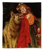 Little Red Riding Hood Fleece Blanket