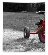 Little Red Trike Fleece Blanket