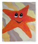 Little Starfish Fleece Blanket