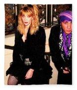 Little Stevie Van Zandt 1989 Fleece Blanket