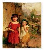 Little Villagers Fleece Blanket