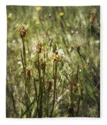 Little Weeds Fleece Blanket