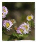 Little Wild Flowers Fleece Blanket
