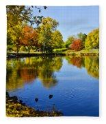 Littleton Pond 1 Fleece Blanket