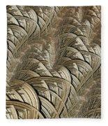 Litz Wire Abstract Fleece Blanket