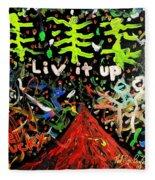 Live It Up Fleece Blanket