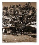 Live Oak Outer Banks Fleece Blanket