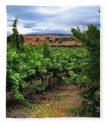 Livermore Vineyard 1 Fleece Blanket