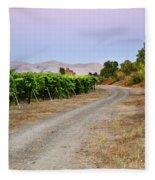 Livermore Vineyard 3 Fleece Blanket
