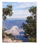 Living On The Edge Fleece Blanket