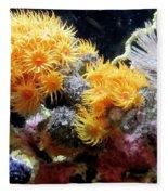 The Living Sea Fleece Blanket