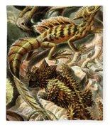 Lizard Detail II Fleece Blanket
