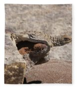 lizard from central Madagascar Fleece Blanket