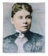 Lizzie Andrew Borden (1860-1927) Fleece Blanket