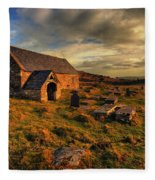 Llangelynnin Church Conwy Fleece Blanket