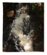 Llangollen And Maelor Country Waterfalls Fleece Blanket
