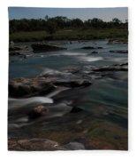 Llano River 2am-105143 Fleece Blanket