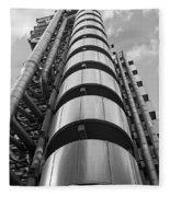 Lloyds Building London Fleece Blanket
