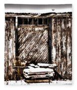 Loading Dock Fleece Blanket