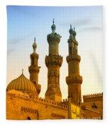 Local Cairo Mosque 05 Fleece Blanket