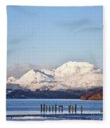 Loch Lomond 01 Fleece Blanket