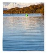 Loch Lomond Portrait Fleece Blanket