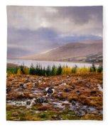 Loch Loyne Cairns Fleece Blanket