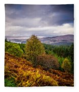 Loch Loyne Fleece Blanket