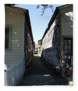 Locke Chinatown Series - Back Alley - 6 Fleece Blanket