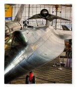 Lockheed M-21 Blackbird Fleece Blanket