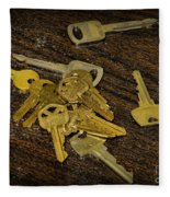 Locksmith - Rejected Keys Fleece Blanket