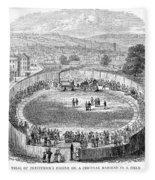 Locomotive, 1808 Fleece Blanket