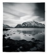 Lofoten Beauty Fleece Blanket