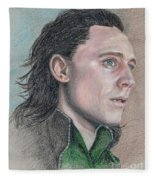 Loki From The Avengers Fleece Blanket