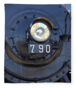 Lokomotive No 790 - Illinois Central Fleece Blanket