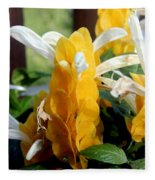 Lollipop Plant  Fleece Blanket