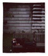 London Bench Fleece Blanket