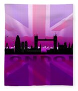 London City Fleece Blanket