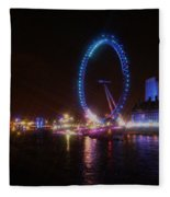 London Eye Art Fleece Blanket