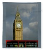 London Icons Fleece Blanket