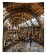 London Natural History Museum Fleece Blanket