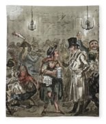 London: Slum, 1821 Fleece Blanket