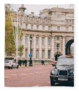London Taxi Fleece Blanket