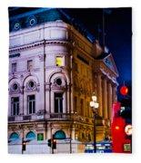 London Trocadero Fleece Blanket