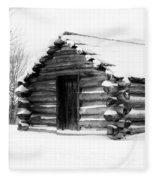 Lone Cabin Fleece Blanket