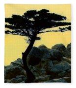 Lone Cypress Companion Fleece Blanket