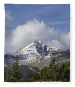 Lone Mountain Peak Fleece Blanket