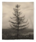 Lone Pine And The Bras D'or Fleece Blanket