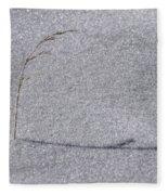 Lone Weed Fleece Blanket